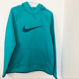 Nike Pullover Hoodie Teal size Large